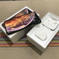 iPhone XS Max 64gb Gold Garansi ex inter Fullset Mulus