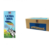 Susu Ultra Rasa Full Cream 200 ml (1 karton isi 24 pcs)
