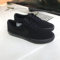 Sepatu original Nike SB Solarsoft Portmore 2 black sneakers for men