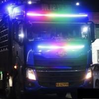 DLampu Bagasi RGB Truck Bus 24Volt 4 Baris 150 Cm R179
