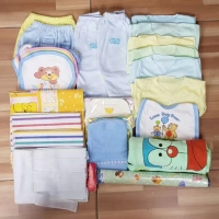 Perlengkapan bayi set baru lahir 29 item / baju bayi newborn halus