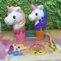 Kiibru unicorn ice cream squishy