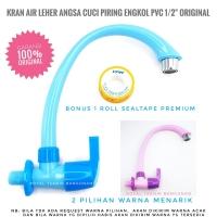 CAB Kran Angsa Wastafel Plastik PVC/ Keran Air Bak Dapur/ Cuci Piring
