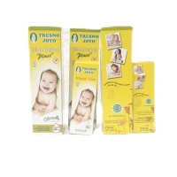 TRESNO JOYO Minyak Telon PLUS 100ml / Minyak Telon Bayi HERBAL PLUSS