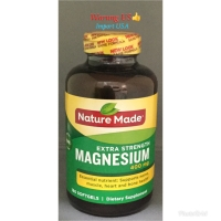 Nature Made Magnesium 400mg (Import USA) 180softgels
