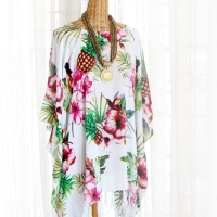 Tropical Tunic Blouse