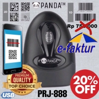 BARCODE SCANNER E-FAKTUR 2D PANDA PRJ-830 (QR CODE-PDF 417-EFAKTUR)