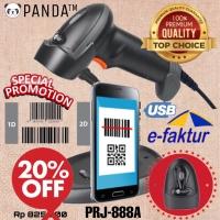 2D BARCODE SCANNER E-FAKTUR PANDA PRJ-888A AUTO+STAND(QR Code-Efaktur)
