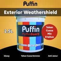 Puffin cat tembok eksterior min 6 thn. Setara dulux jotun. promo 2.5L