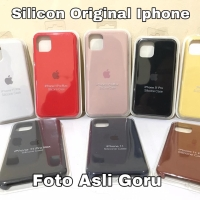 Silicone Case Iphone 11 11 Pro Max X Xr Xs Max 6 6S 7 8 Plus Original