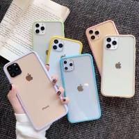 Pastel Bumper Case iPhone 7/8/7+/8+/X/Xs/Xs Max/Xr/11/11 Pro/11 ProMax