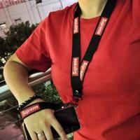 Tali Hp / Lanyard Name tag / Kalung Id card / phone strap - SUPREME