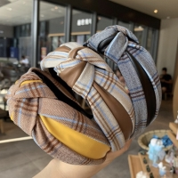 "Bando Korea Lebar Fashion Wanita Aksesoris Rambut ""Kotak"" Vintage"