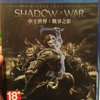 Kaset game PS4 Playstation Middle of Earth: Shadow of War Promo Murah