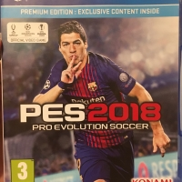 Kaset Game PS4 Playstation PES 2018 Asli Original Murah (USED)