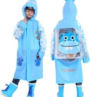 Jas hujan anak lucu model tas / rain coat children / jas hujan korea