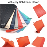 iPad Smart Case with Jelly Solid Backcover