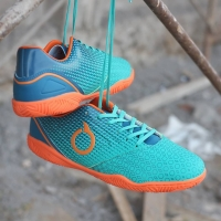 Sepatu Futsal Ortuseight Genesis IN - Tosca/Arctic Blue/Ortrange