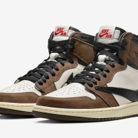 "Nike Air Jordan 1 x Travis Scott ""Cactus Jack"" (Size 9)"