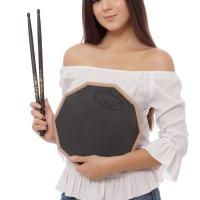 Paket SZS Drum Pad / Drumpad Economis + Stick Zildjian Travis Barker