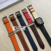 apple watch tali strap hermes single leather kulit 1 2 3 4 42mm 44mm