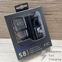 TRAVEL CHARGER SAMSUNG S8 TYPE C ORIGINAL FAST BLACK