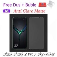 MAXFEEL Tempered Glass Anti Glare Matte Black Shark 2 Pro / Skywalker