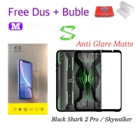 MAXFEEL Tempered Glass Matte Black Shark 2 Pro / Skywalker FULL COVER