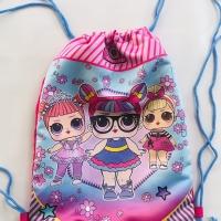 Promo tas anak sekolah serut tk-sd frozen - lol surprise