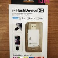 OTG I-FLASH IPHONE / IPAD CARD READER LIGHTNING MICRO USB SD CARD