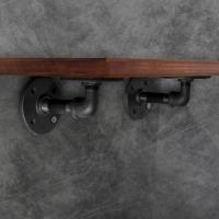 Rata Floating Rack by Daur Design: Rak Pajangan industrial