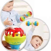 Mainan Bayi Kerincingan Bunyi Baby Teether Rattle Baby Gym
