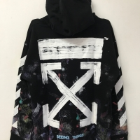 HOODIE OFFWHITE GALAXY OFF WHITE