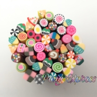 Nail Art Decorations Fimo Stick Polymer Clay Cake