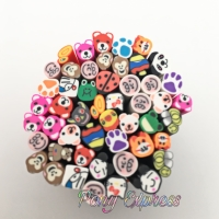 Nail Art Decorations Fimo Stick Polymer Clay Animal