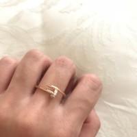 1GR cincin cartier paku emas asli best seller