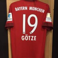 Original jersey Bayern Munchen 2015-16 Gotze Liga