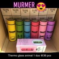 Thermos Glass Animal 450 ML / Botol Air Minum / Termos Karakter