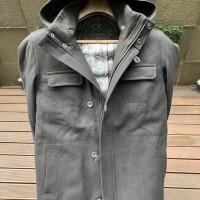 Calvin Clein- Winter Jacket - Wool - Hooded - Black - Unused