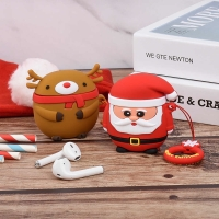 Case AirPods 1 / 2 Christmas Limited Edition Silicone Soft Casing