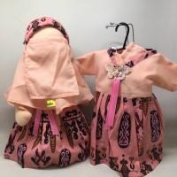 Boneka Anak Faceless Radinka doll Outfit Batik Papua - Clara
