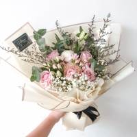 Mix Bouquet Medium Size - Buket Bunga Campur Rustic Wisuda Graduation