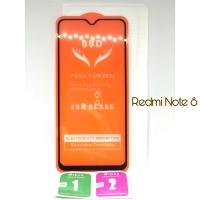 Tempered Glass Full Cover xiaomi Redmi Note 8 TERMURAH