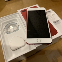 iphone 7plus 128gb red edition free 4pcs case