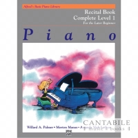 Buku Alfred's Recital Book Complete Level 1 (For Later Beginner)