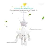 Baby Rattle Mainan Stroller Toy Musical Mobile Toys Cute Cartoon Star