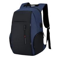 Tas ransel terbaru good quality anti air muat laptop 15.6 inch hm 09 - Hitam