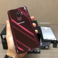 Samsung Galaxy S9+ S9 Plus 128GB second Burgundy Red Mulus bekas