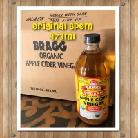 Bragg Organic Apple Cider Vinegar 473 ml Original BPOM