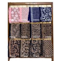 Kain Batik Cap Paris Black PRB series/ kain lilit/ rok lilit